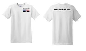 US Navy Veteran Cotton T-Shirt -Recruiter-(P)