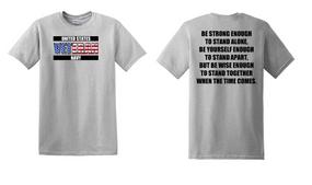 US Navy Veteran Cotton T-Shirt -Stand-(FF)