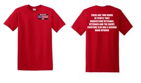 US Navy Veteran Cotton T-Shirt -Two Kinds-(P)