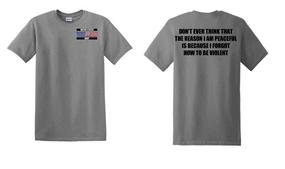 US Navy Veteran Cotton T-Shirt -Violent-(P)