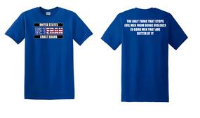 US Coast Guard Veteran Cotton Shirt- Evil- (FF)