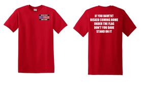 US Coast Guard Veteran Cotton Shirt- Flag- (P)