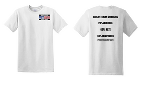 US Coast Guard Veteran Cotton Shirt- Hate- (P)