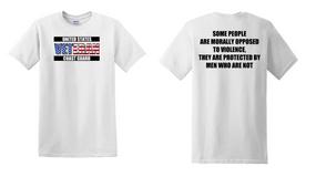 US Coast Guard Veteran Cotton Shirt- Morally- (FF)