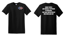 US Coast Guard Veteran Cotton Shirt- Morally- (P)