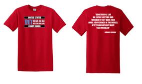US Coast Guard Veteran Cotton Shirt-Reagan- (FF)