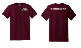 US Coast Guard Veteran Cotton Shirt-Recruiter- (P)