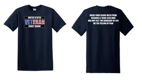 US Coast Guard Veteran Cotton Shirt-Scars- (FF)