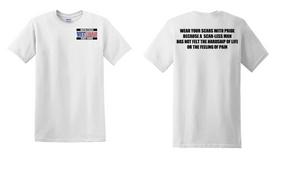US Coast Guard Veteran Cotton Shirt-Scars- (P)