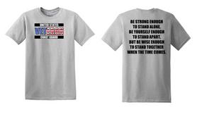 US Coast Guard Veteran Cotton Shirt-Stand- (FF)