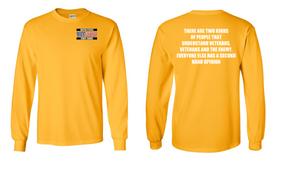 US Coast Guard Veteran Long-Sleeve Cotton Shirt- Two Kinds- (P)