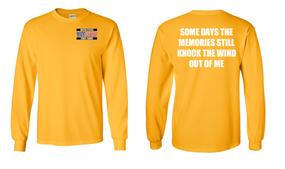 US Coast Guard Veteran Long-Sleeve Cotton Shirt- Wind Up- (P)