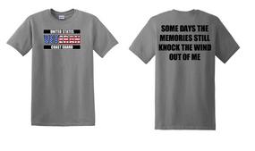 US Coast Guard Veteran Cotton Shirt-Wind- (FF)