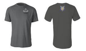 1-17th Cavalry (Crest) Master Paratrooper Moisture Wick Shirt