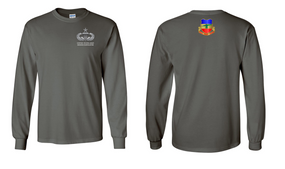 3-73rd Armor Senior Jumpmaster Long-Sleeve Cotton Shirt