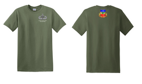 3-73rd Armor Senior Paratrooper Cotton Shirt