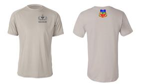 3-73rd Armor Senior Jumpmaster Moisture Wick Shirt