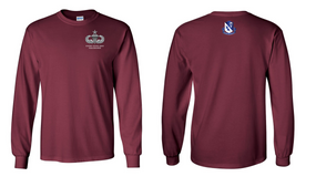 507th Parachute Infantry Regiment Senior Paratrooper Long-Sleeve Cotton Shirt
