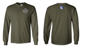 507th Parachute Infantry Regiment US Army Jumpmaster Long-Sleeve Cotton Shirt