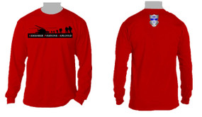 RED - Remember Everyone Deployed (325)  Long-Sleeve Cotton T-Shirt
