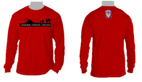 RED - Remember Everyone Deployed (501)  Long-Sleeve Cotton T-Shirt