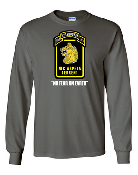 27th Infantry Regiment Wolfhounds LS  Cotton Shirt (FF)
