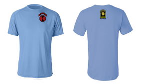 "7th Infantry Division ""Wolfhounds"" Moisture Wick T-Shirt (P)"
