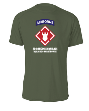20th Engineer Brigade (Airborne) Cotton Shirt (FF)
