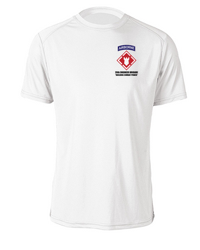 20th Engineer Brigade (Airborne) Cotton Shirt (P)