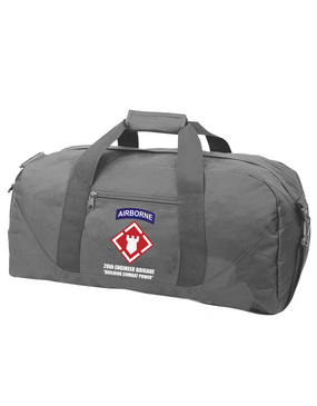 20th Engineer Brigade (Airborne) Embroidered Duffel Bag