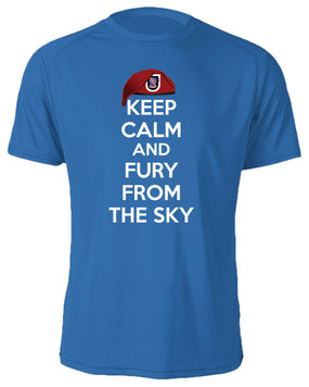 "2/508th Parachute Infantry Regiment ""Keep Calm"" Cotton Shirt"