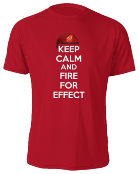 "3/319th Field Artillery  ""Keep Calm"" Cotton Shirt"