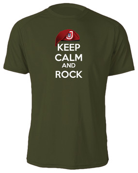 "2/503rd Parachute Infantry Regiment  ""Keep Calm"" Cotton Shirt"