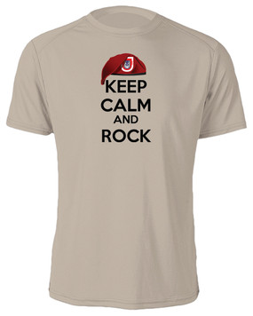 "3/503rd Parachute Infantry Regiment  ""Keep Calm"" Cotton Shirt"