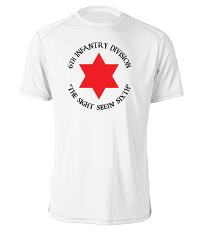 6th Infantry Division Moisture Wick T-Shirt (FF) (C)