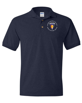 Southern European Task Force SETAF Embroidered Cotton Polo Shirt