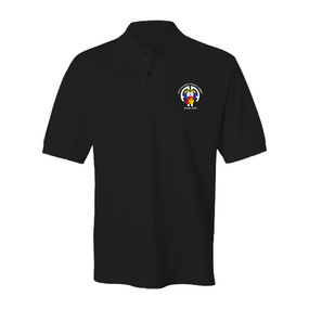 504th Parachute Infantry Regiment All American AA Embroidered Cotton Polo Shirt