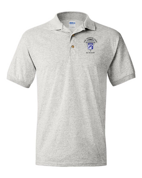 18th Airborne Corps Embroidered Cotton Polo Shirt (C)