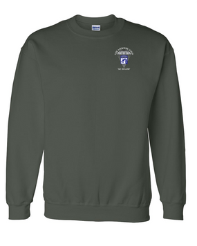18th Airborne Corps Embroidered Sweatshirt