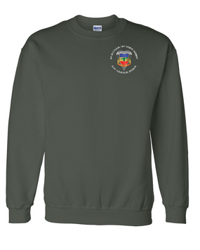 3/73rd Armor Embroidered Sweatshirt-M