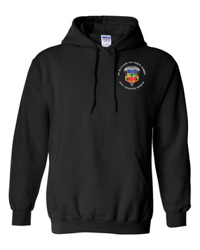3/73rd Embroidered Hooded Sweatshirt-M