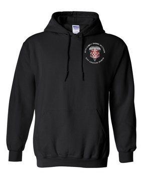 307th Engineers Embroidered Hooded Sweatshirt-M