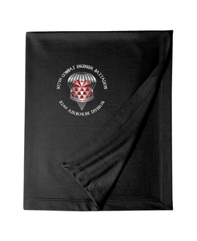 307th Engineers Embroidered Dryblend Stadium Blanket-M