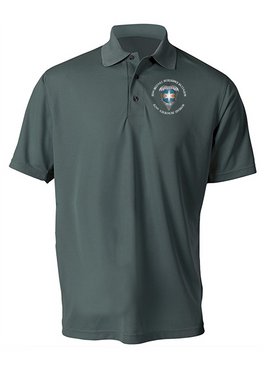 313th MI Battalion Embroidered Moisture Wick Polo-M