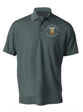 407th Brigade Support Battalion Embroidered Moisture Wick Polo-M