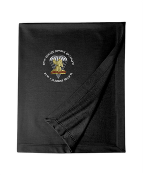 407th Brigade Support Battalion Embroidered Dryblend Stadium Blanket-M