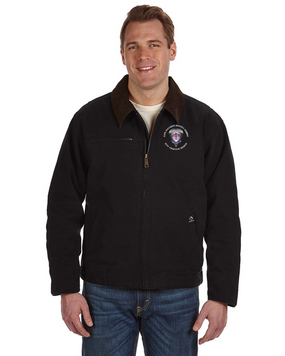 2-501st Parachute Infantry Regiment Embroidered DRI-DUCK Outlaw Jacket -M