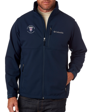 2-501st Parachute Infantry Regiment Embroidered Columbia Ascender Soft Shell Jacket -M