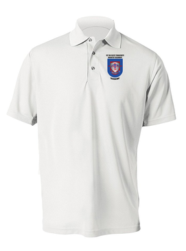 1-501st  Parachute Infantry Regiment Embroidered Moisture Wick Polo-M