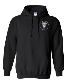 2-501st Embroidered Hooded Sweatshirt-M